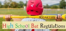 high school bat regulations