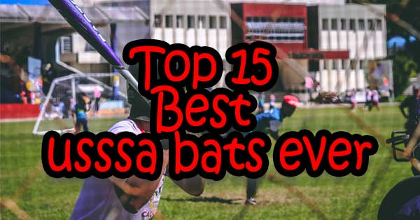 Top 15 Best usssa bats ever