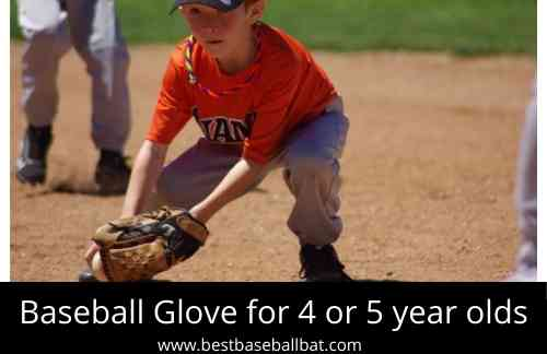 How to choose the best Baseball Glove for 4 or 5 year olds?